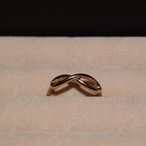 Jewelry - gold infinity ring